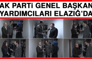 AK Parti Genel Başkan Yardımcıları Elazığ'da