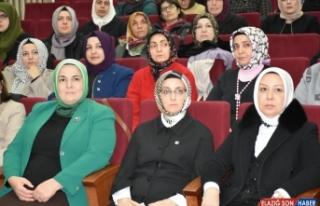 AK Parti'li Çam Malatya'da depremzedeleri ziyaret...