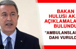 """AMBULANSLARIMIZ DAHİ VURULDU"""