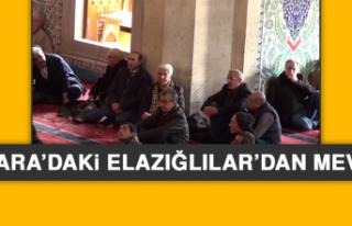 Ankara'daki Elazığlılar'dan Mevlid