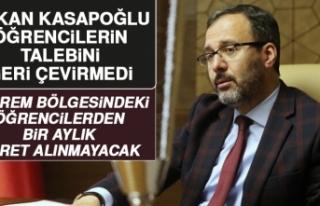Bakan Kasapoğlu, Elazığ'daki Öğrencilerin...