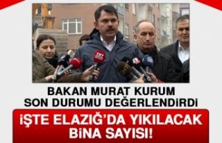 Bakan Murat Kurum, Son Durum Hakkında Bilgi Verdi!