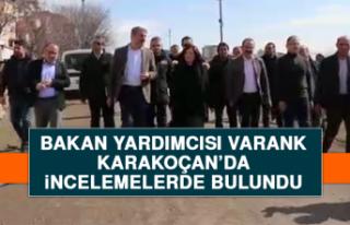 Bakan Yardımcısı Varank, Karakoçan'da İncelemelerde...