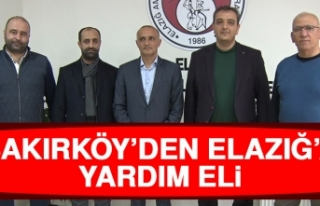 Bakırköy'den Elazığ'a Yardım Eli