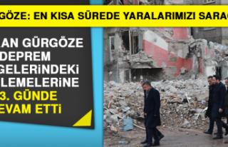 Başkan Gürgöze Deprem Bölgelerindeki İncelemelerine...