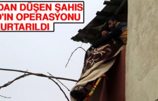 Çatıdan Düşen Şahıs Afad'ın Operasyonu...