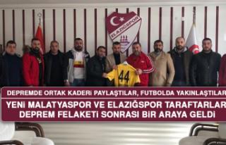 Depremde Ortak Kaderi Paylaştılar, Futbolda Yakınlaştılar