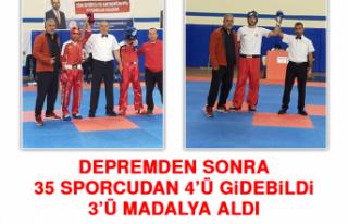 Depremden Sonra 35 Sporcudan 4'ü Gidebildi, 3'ü...