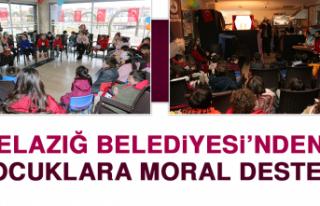 Elazığ Belediyesi'nden Çocuklara Moral Desteği