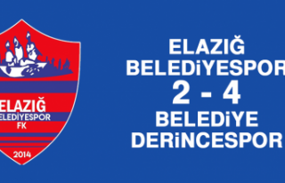 Elazığ Belediyespor 2 - 4 Belediye Derincespor