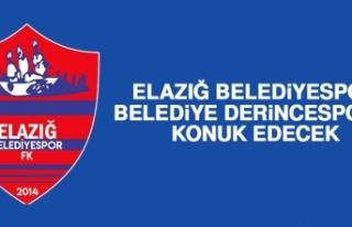 Elazığ Belediyespor Belediye Derincespor'u Konuk...
