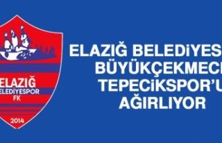 Elazığ Belediyespor, Büyükçekmece Tepecikspor'u...