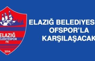 Elazığ Belediyespor Ofspor'la Karşılaşacak