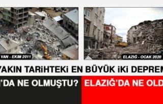 Elazığ ve Van Depreminin Ayrıntılı Karşılaştırması