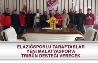 Elazığsporlu Taraftarlar, Yeni Malatyaspor'a Tribün...