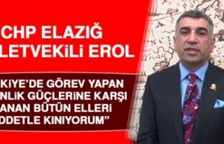 Erol: Türkiye Büyük Bir Üzüntüyle Karşı Karşıya...