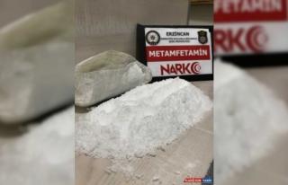 Erzincan'da uyuşturucu ticareti iddiasıyla 2 zanlı...