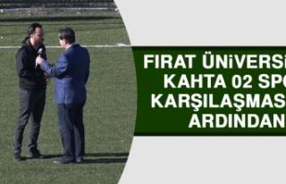 Fırat Üniversitesi - Kahta 02 Spor Karşılaşmasının...
