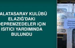 Galatasaray'dan Depremzedelere Isıtıcı