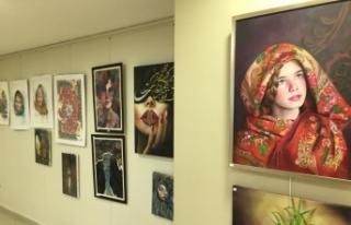 İranlı ve Türk ressam aynı sergide bir araya geldi