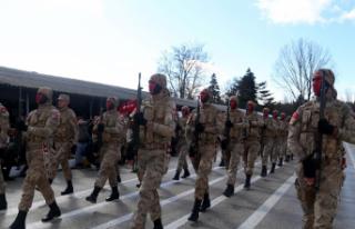 Jandarma Teşkilatına 2 Bin 990 Uzman Erbaş Katılımı