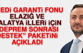 KGF Elazığ ve Malatya İlleri İçin Deprem Sonrası...