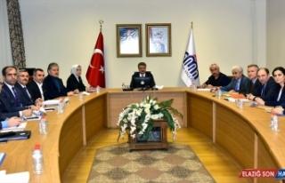 Malatya'da deprem değerlendirme toplantısı yapıldı