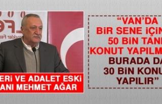 Mehmet Ağar Açıklamalarda Bulundu