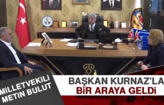 Milletvekili Bulut Başkan Kurnaz'la Bir Araya Geldi