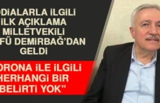 Milletvekili Demirbağ, İddialarla İlgili Açıklama...