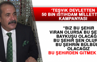 'Teşvik Devletten 50 Bin İstihdam Milletten'...