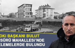 TOKİ Başkanı Bulut, Sürsürü Mahallesi'nde...