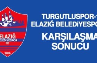 Turgutluspor 1-0 Elazığ Belediyespor