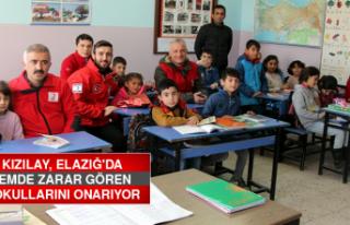 Türk Kızılay, Elazığ'da Depremde Zarar Gören...