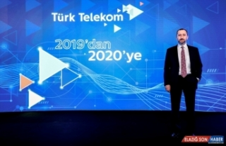 Türk Telekom 2019'da 2,4 milyar lira net kar elde...