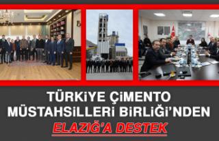 Türkiye Çimento Müstahsilleri Birliği'nden Elazığ'a...