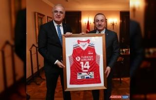 Türkiye Voleybol Federasyonu Başkanı Üstündağ'dan...