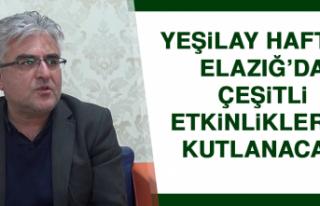 Yeşilay Haftası Elazığ'da Çeşitli Etkinliklerle...