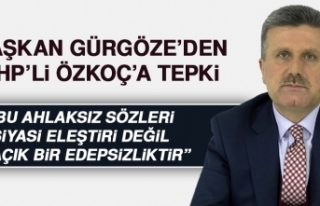 Başkan Gürgöze'den CHP'li Özkoç'a...