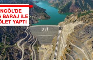 Bingöl'de DSİ 6 Baraj İle 2 Gölet Yaptı