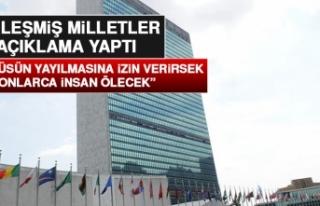 Birleşmiş Milletler Koronavirüsle İlgili Açıklama...