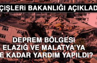 Deprem bölgesi Elazığ ve Malatya'ya ne kadar...