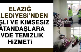 Elazığ Belediyesi'nden Yaşlı ve Kimsesiz Vatandaşlara...