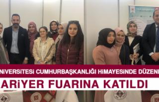 Fırat Üniversitesi Kariyer Fuarına Katıldı
