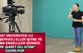 """Fırat Üniversitesi """"Türk İşaret Dili Kitabı""""..."""