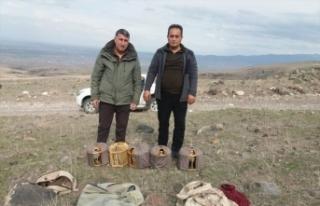 Iğdır'da kaçak keklik avcılarına 64 bin 624 lira...