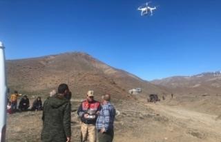 Jandarma kaçak avcıları drone sayesinde suçüstü...