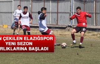 Ligden Çekilen Elazığspor Yeni Sezon Hazırlıklarına...