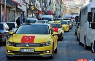 Muş'ta Bahar Kalkanı Harekatı'na destek konvoyu