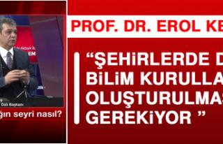Prof. Dr. Keleş: Pandemi Kurulları, İllerde Alınacak...